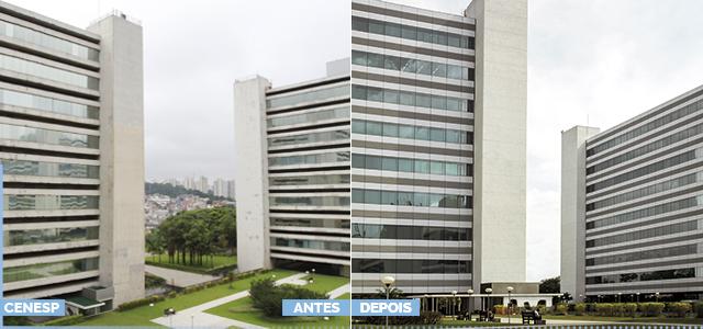 CENESP (antes e depois)